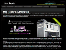 Tablet Preview of macrepairsouthampton.co.uk